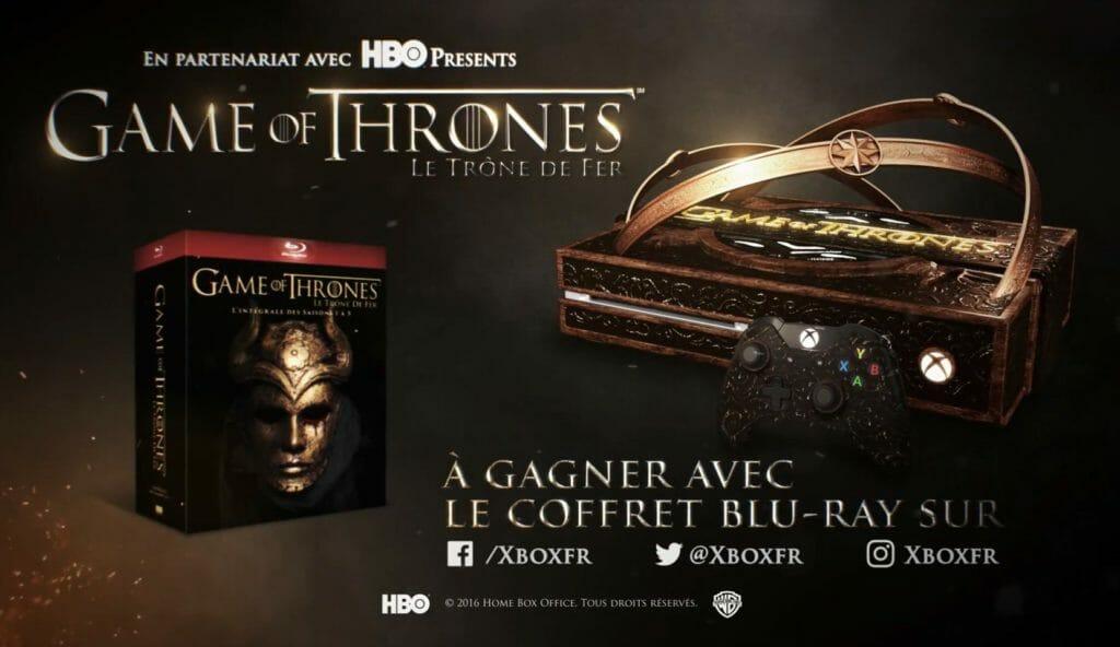 Game of Thrones 紅到爆了!微軟推出Xbox One 權力遊戲限量版