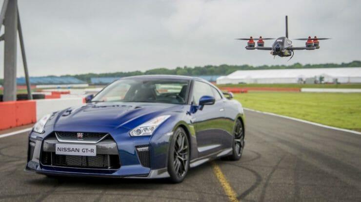 Nissan推出史上最快的無人機 GT-R Drone,時速高達185公里!